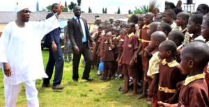 2 Aregbesola-inspects-ongoing-projects-Osogbo-High-School-pupils-rejoice-with-Omoluabi-Governor