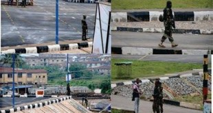 army at freedom park during osun election