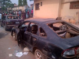 Secondary School Students Protest in Ife