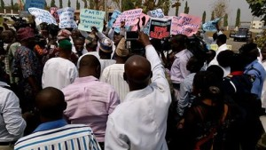 medical Dr Protest in Osun