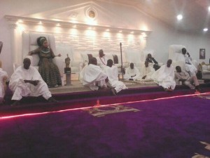 ooni during the declaration of ife as tourism zone