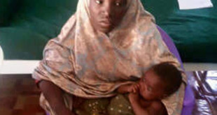 Rescued-Chibok-Girl-with-baby-