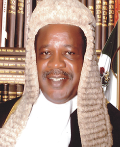 Justice Ibrahim Auta, the NJC panel Chairman that investigated Justice Folahanmi's petition.