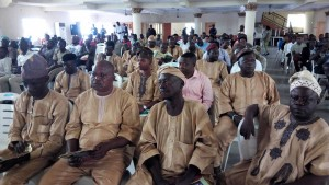 A Cross Section of Participants with Members of Correspondents Chapel in uniform Dress