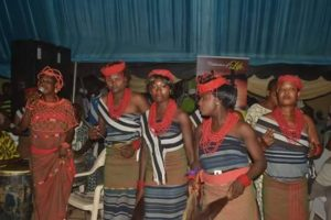 Owo Cultural Troops Entertaining Guests