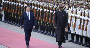 Chinese President Xi Jinping and President Buhari