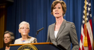 Sally Yates, the acting attorney general of the United States