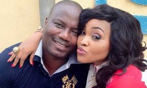 mercy aigbe and Lanre-Gentry