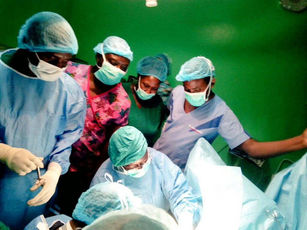 51 Regain Sight as Omoyiola Stage Free Cataract Surgery in Iwoland