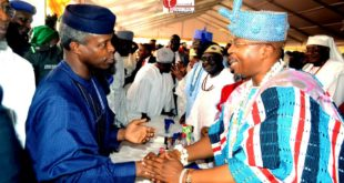 Yemi Osinbajo and Oluwo