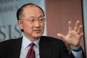 World Bank president, Jim Yong Kim