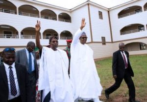 Buhari commissions school in Osun