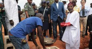 Aregbesola at Ilesa water supply