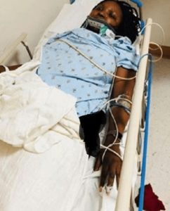 Actress Ify Arinze After The Accident