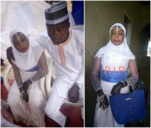 Lady dies two day after wedding