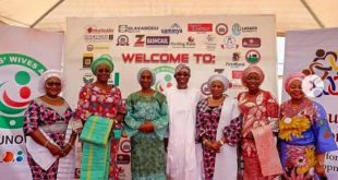 Wive of VP, Aregbesola