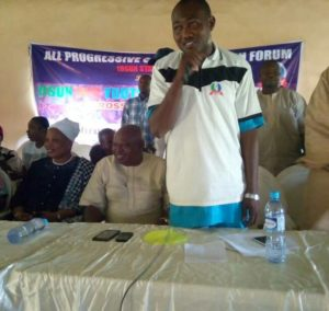 The Coordinator, Osun All Progressives Youth Forum, Olateju Olorungbebe Adunni
