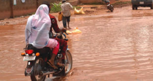 In Ife-Odan, pregnant women mount motorcycles and travel long distance to receive medical care.