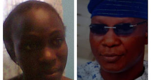 Two affected journalists from OSBC, Motunrayo and Aboderin
