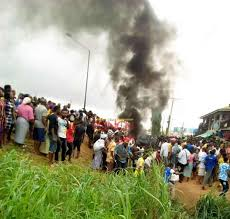 Kidnappers Burnt to death