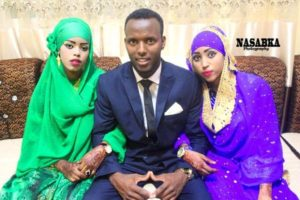 The Somali Man With His Two Wives